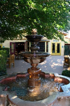 Inn Marin Garden Fountain