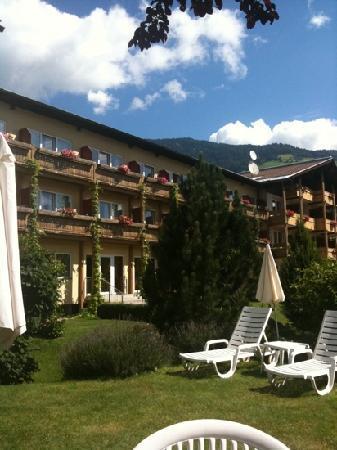 Ferienhotel Moarhof: vista dalla piscina