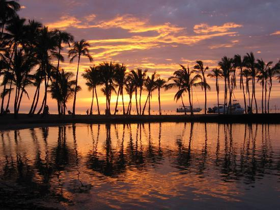 Waikoloa, Hawaï : Sunset