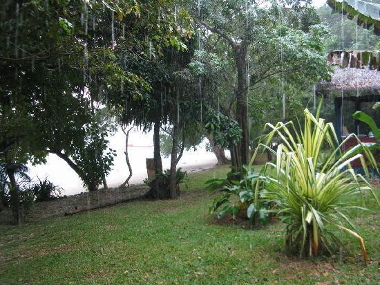 Havannah Eco Lodge: It rained a little bit!