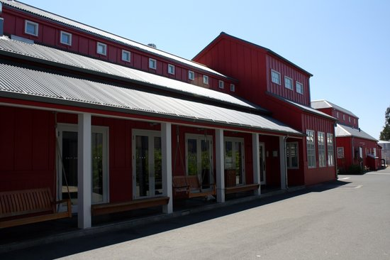 Exterior of the Boon Fly Cafe