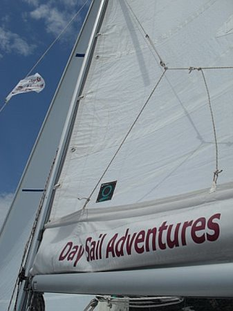 Day Sail Adventures: The sails are up