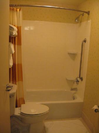 SpringHill Suites Arundel Mills BWI Airport: shower