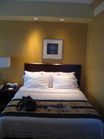 SpringHill Suites Arundel Mills BWI Airport: queen bed