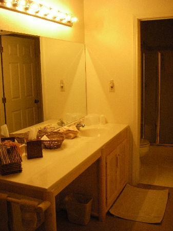 Bonners Ferry Log Inn: Bathroom