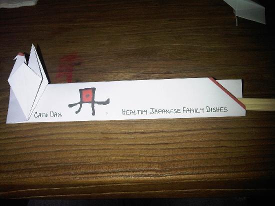 origami chopstick rest of fishbone - YouTube | 412x550