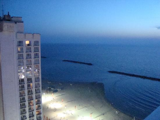 Herods Tel Aviv : view from aour room on the 18th floor