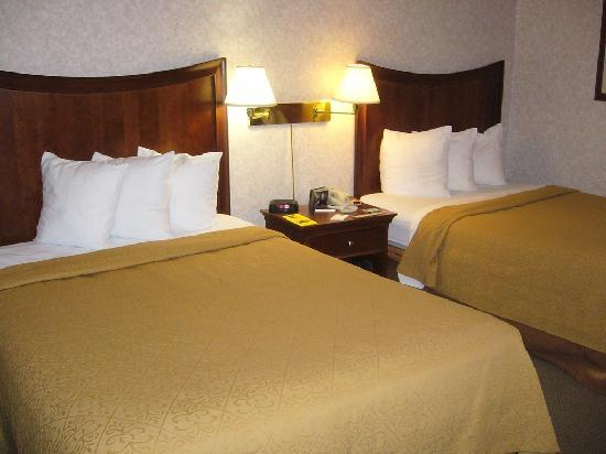 Quality Inn Downtown: Two-bedded room #207