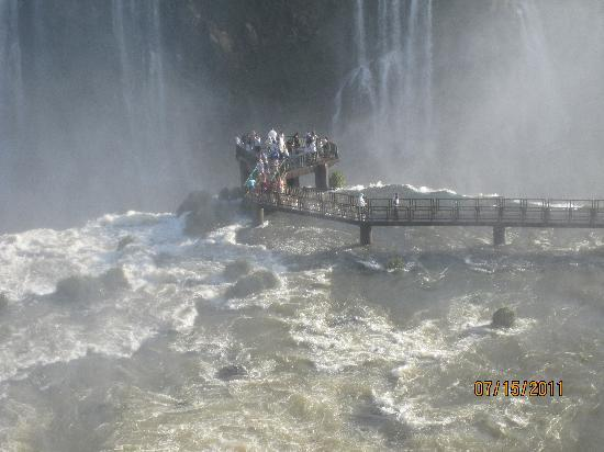 Iguazu Falls: So much water, it seems the whole Earth sprung a leak!