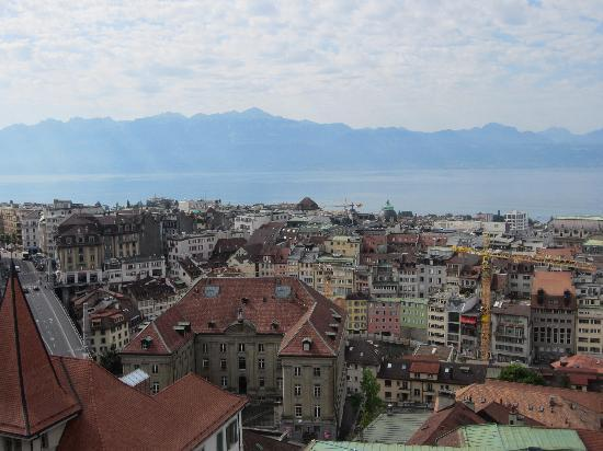 Catedral de Lausanne: one of many views from the top
