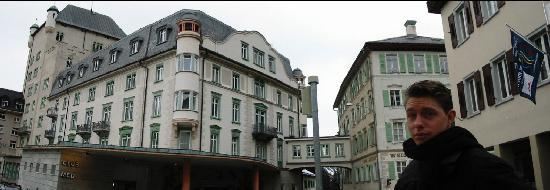 Hotel Schloss Pontresina Family & Spa: The hotel