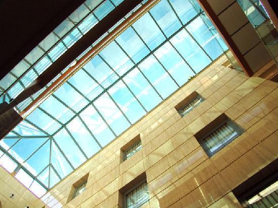 Hotel Torreluz Senior: Detalle techo hall entrada