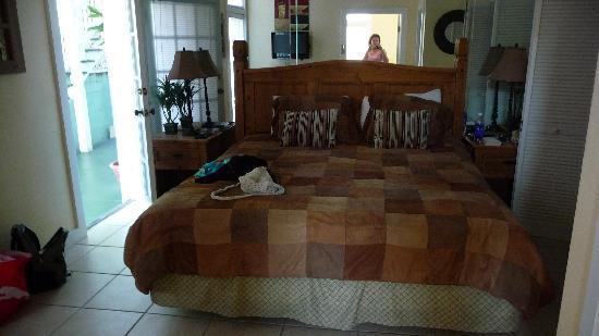 Douglas House: Schlafzimmer