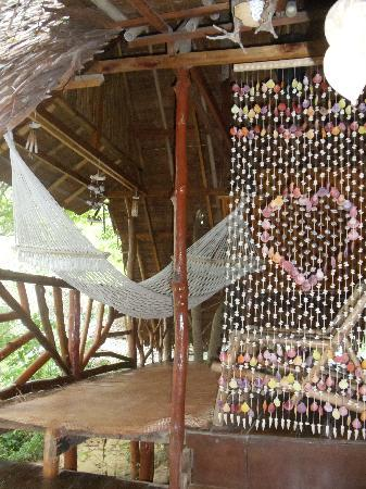 Viking Natures Resort: Porch with hammock