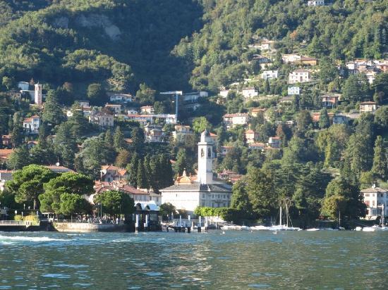 Hotel Miralago : Approaching Cernobbio