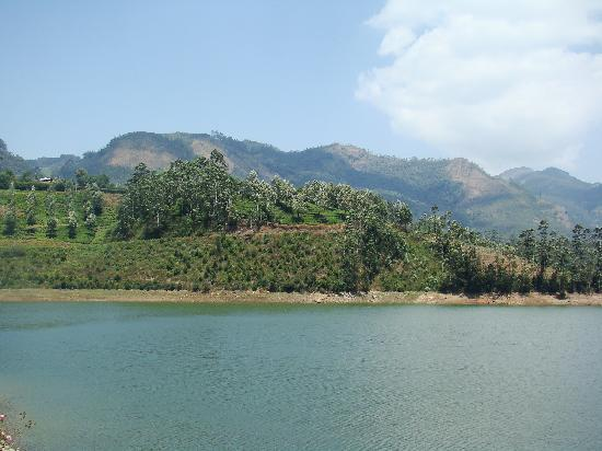 Club Mahindra Munnar: the lake