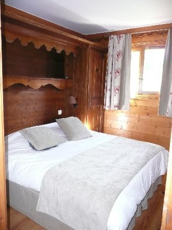 Meribel, Prancis: chambre adulte