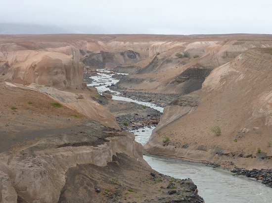 Katmai National Park and Preserve, AK: Canyon alla Ten Thousand Smokes Valley