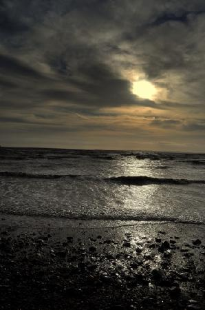 Sand Bay Beach Villas: Sand Bay just north of Weston
