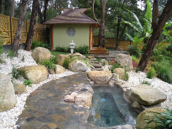 Japanese Mountain Retreat Mineral Springs & Spa: Mineral Hot Spring and Tea House