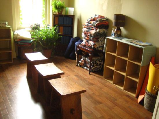 Covington Yoga Storage Cubes Equipment Room