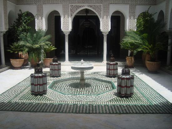 La Mamounia Marrakech: near the spa