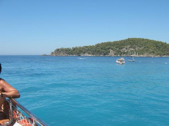 Rebin Beach Hotel: Inseltour