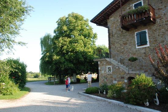 Cormons, Itália: uno scorcio dell'azienda