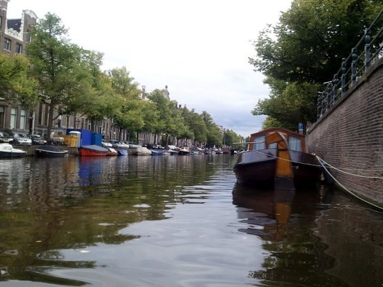 Amsterdam Jewel Cruises - Dinner Cruise: a view along the way