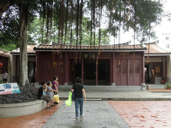 Qingjinmen Township Zhongbingshu: ガジュマルの大木