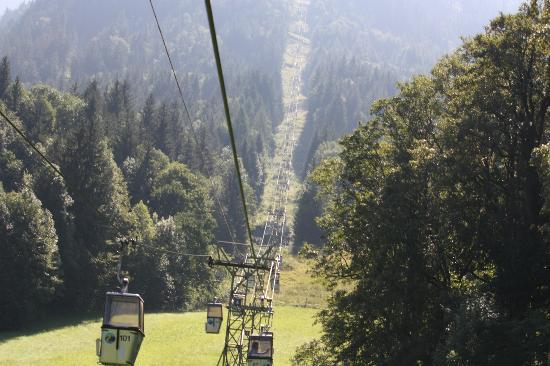 Jenner Bergbahn: Bergbahn