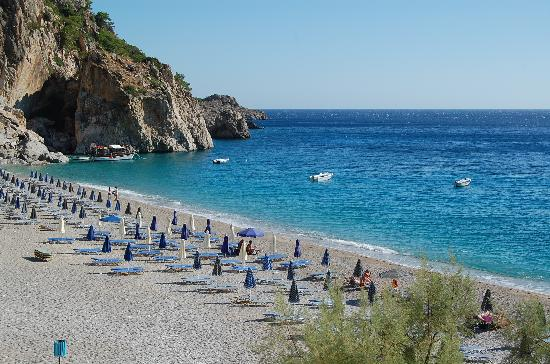 Kira Panagia, Grecja: la spiaggia di Kyra Panagia