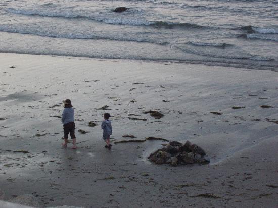 Pilgrim Sands on Long Beach : End of day