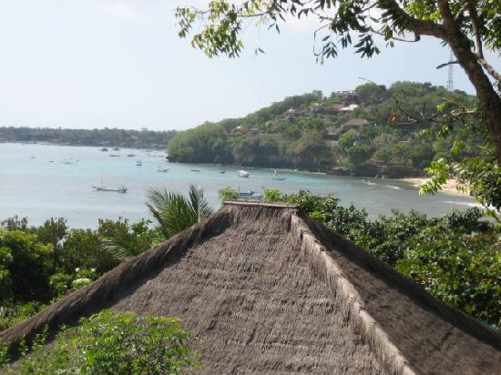 Tamarind Beach Bungalows: View from our room