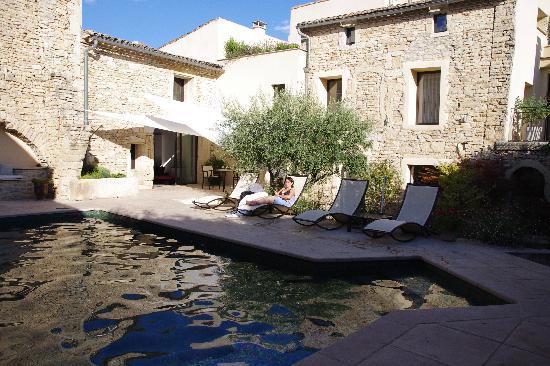 Le Huit et Spa : piscine