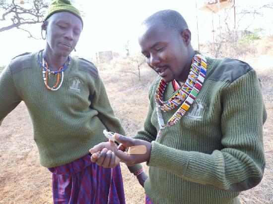Porini Amboseli Camp : Melita & Wilson - ace team