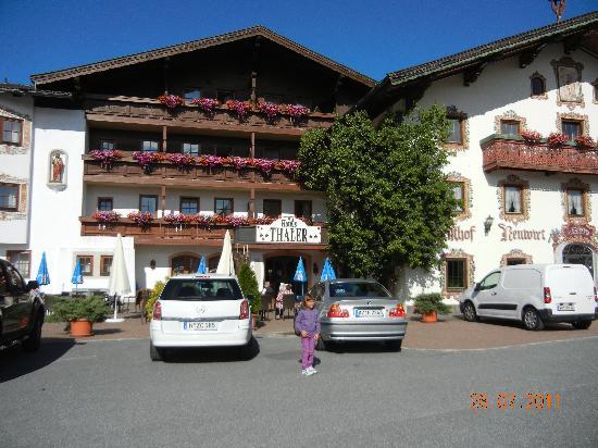 Hinterthiersee, Österrike: altra foto della principale ove si mangia e vi è il collegamento WiFi