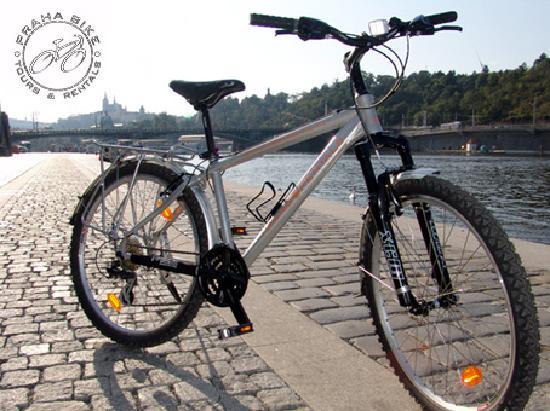 "Praha Bike -  Bicycle Tours & Rentals : Praha Bike - mountain city bike 26"", 24 gears"