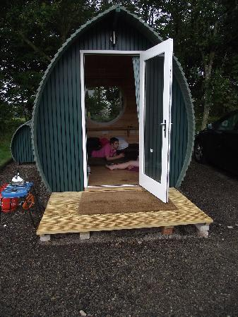 Gill Head Farm Self catering Holidays: small pods for 3