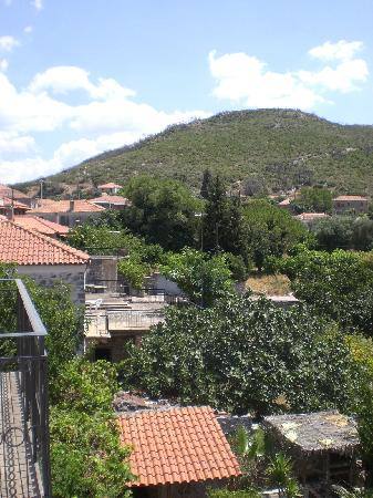 Archontiko Leontari : view from balcony