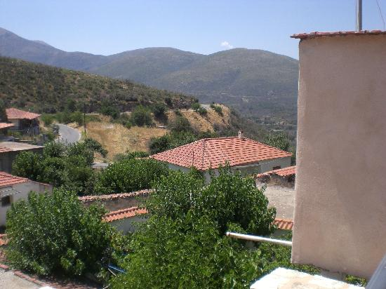 Archontiko Leontari : another view from balcony