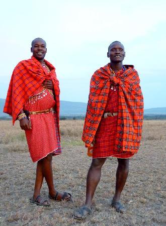 Porini Mara Camp: Marama & Jimmy - Leopard trackers