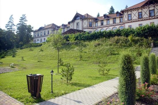 Erzsebet Park Hotel: View from the park