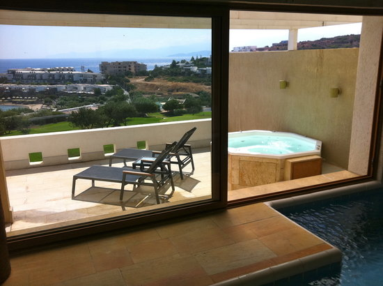 Six Senses Spa at Porto Elounda Crete: Private Spa Suite