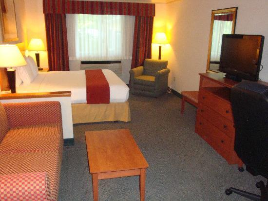 Holiday Inn Express Hotel & Suites Burlington: Room