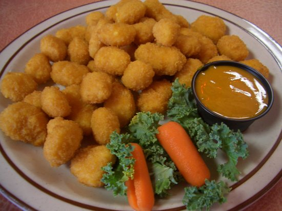 German Haus : Fresh plate of cheese curds