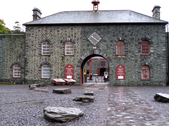 Llanberis, UK: Entrance to the Welsh Slate Museum