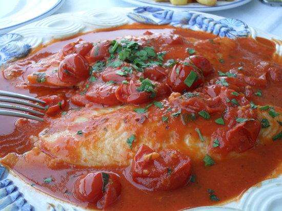 Ristorante Bagni Delfino: mouthwatering food