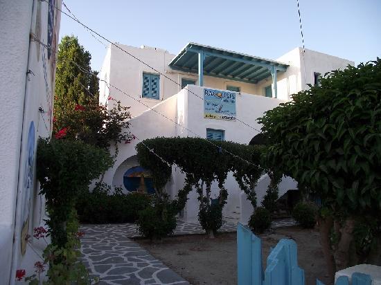 Ragousis Apartments: L'entrée de la résidence Ragousis