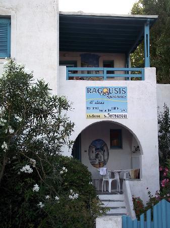 Ragousis Apartments: Notre terrasse (en haut)